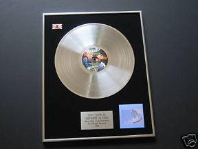 DIRE STRAITS - Brothers In Arms PLATINUM LP PRESENTATION DISC